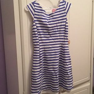 Lilly Pulitzer striped boat neck summer dress